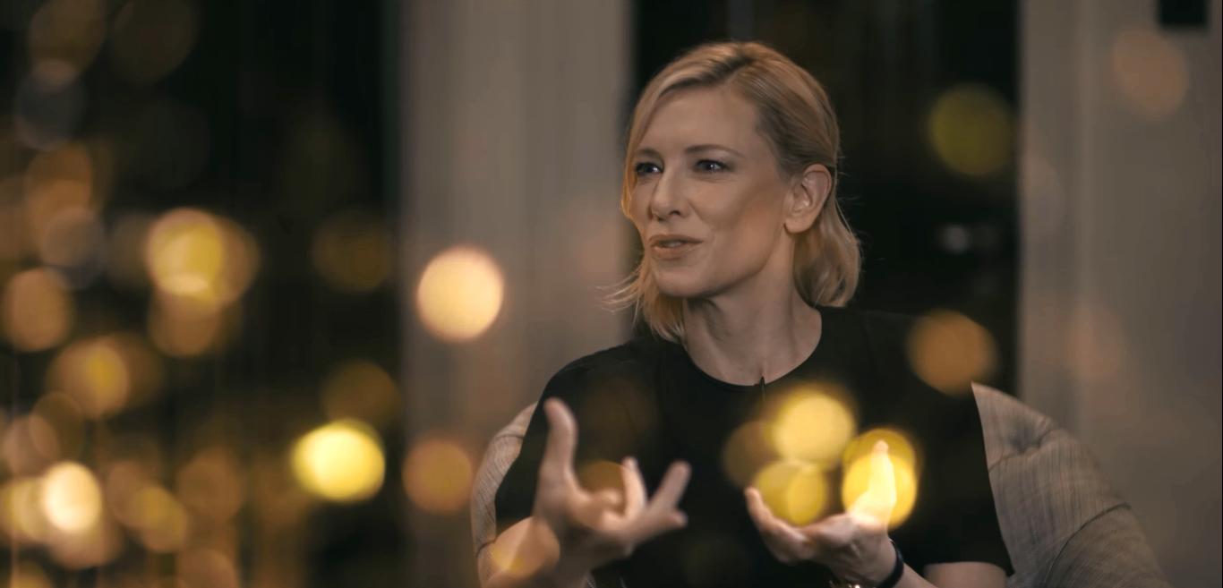 #IWCTalksTo: Cate Blanchett
