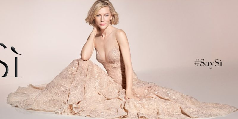 Cate Blanchett for Sì by Giorgio Armani: new photos and videos #SaySì