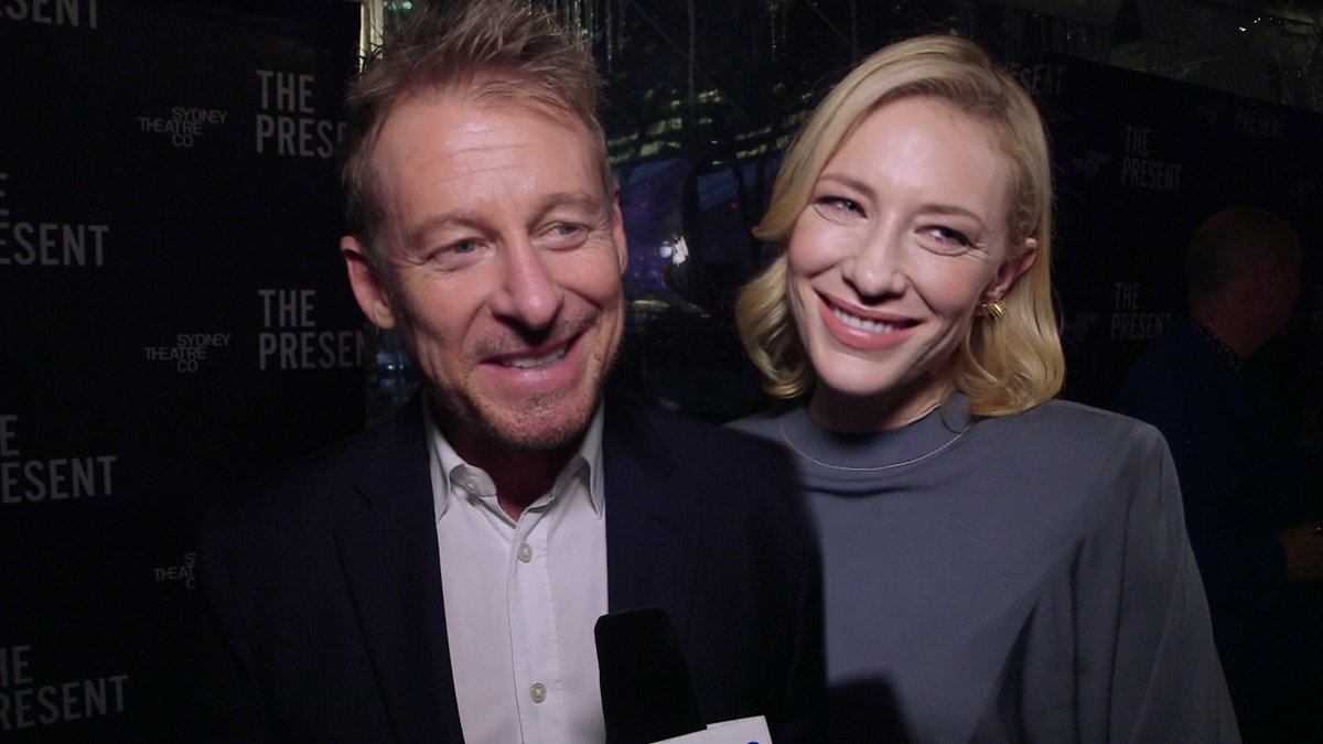 The Present – Cate Blanchett and Richard Roxburgh Radio Interview