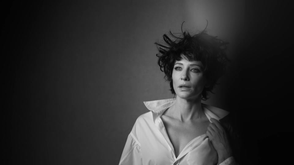 Watching, Waiting: Behind the scenes photos of Cate Blanchett from W Magazine