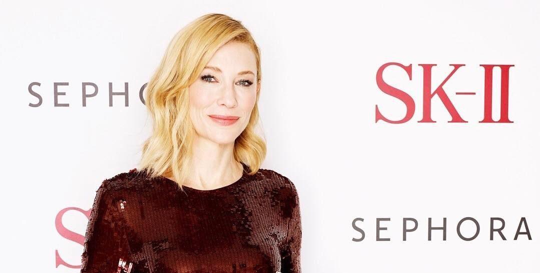 Cate Blanchett reveals her beauty routine secrets #SKII