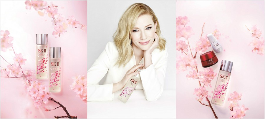 Cate Blanchett for SK-II Sakura Mother's Day Limited Edition