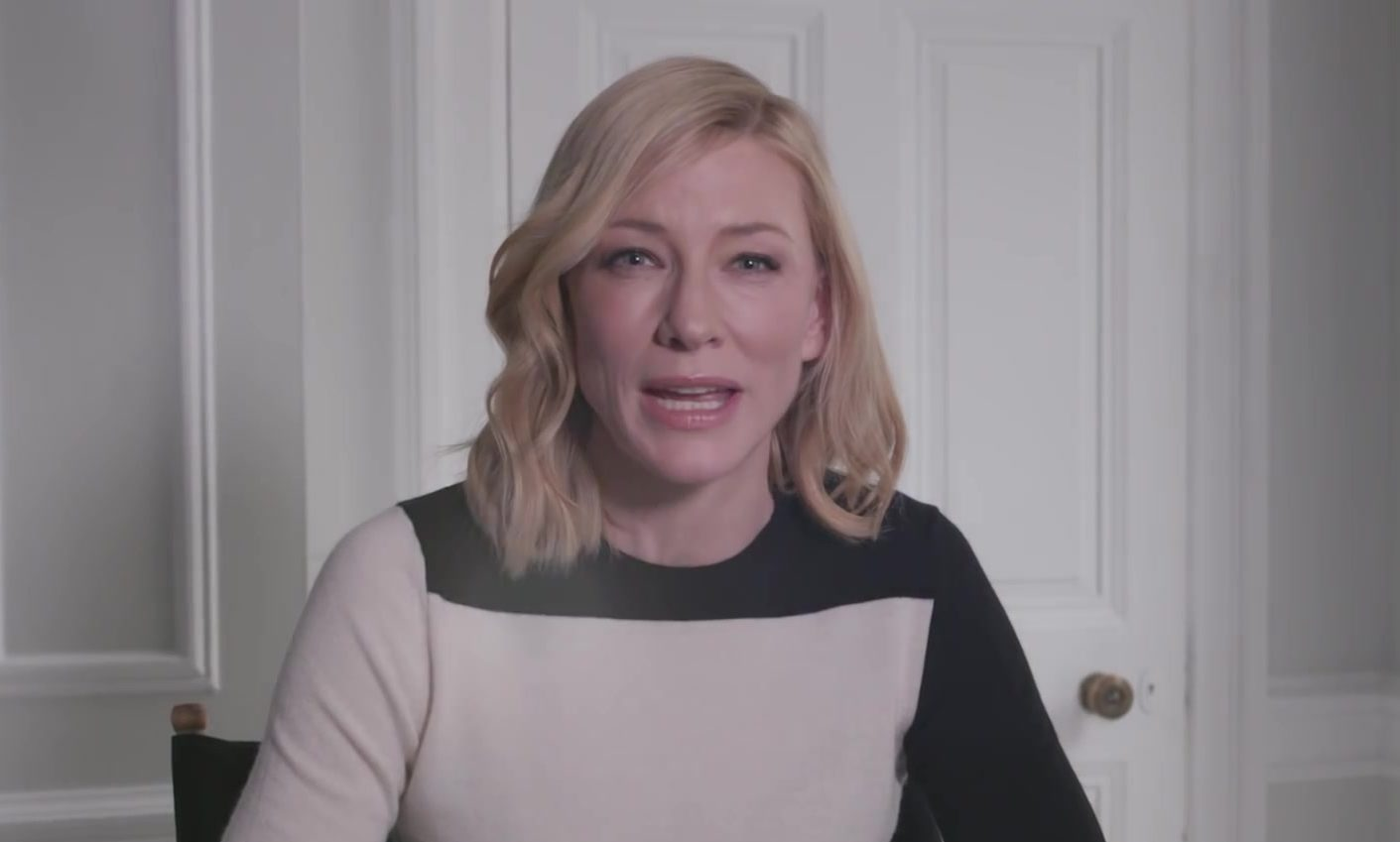 New video message from UNHCR goodwill ambassador Cate Blanchett