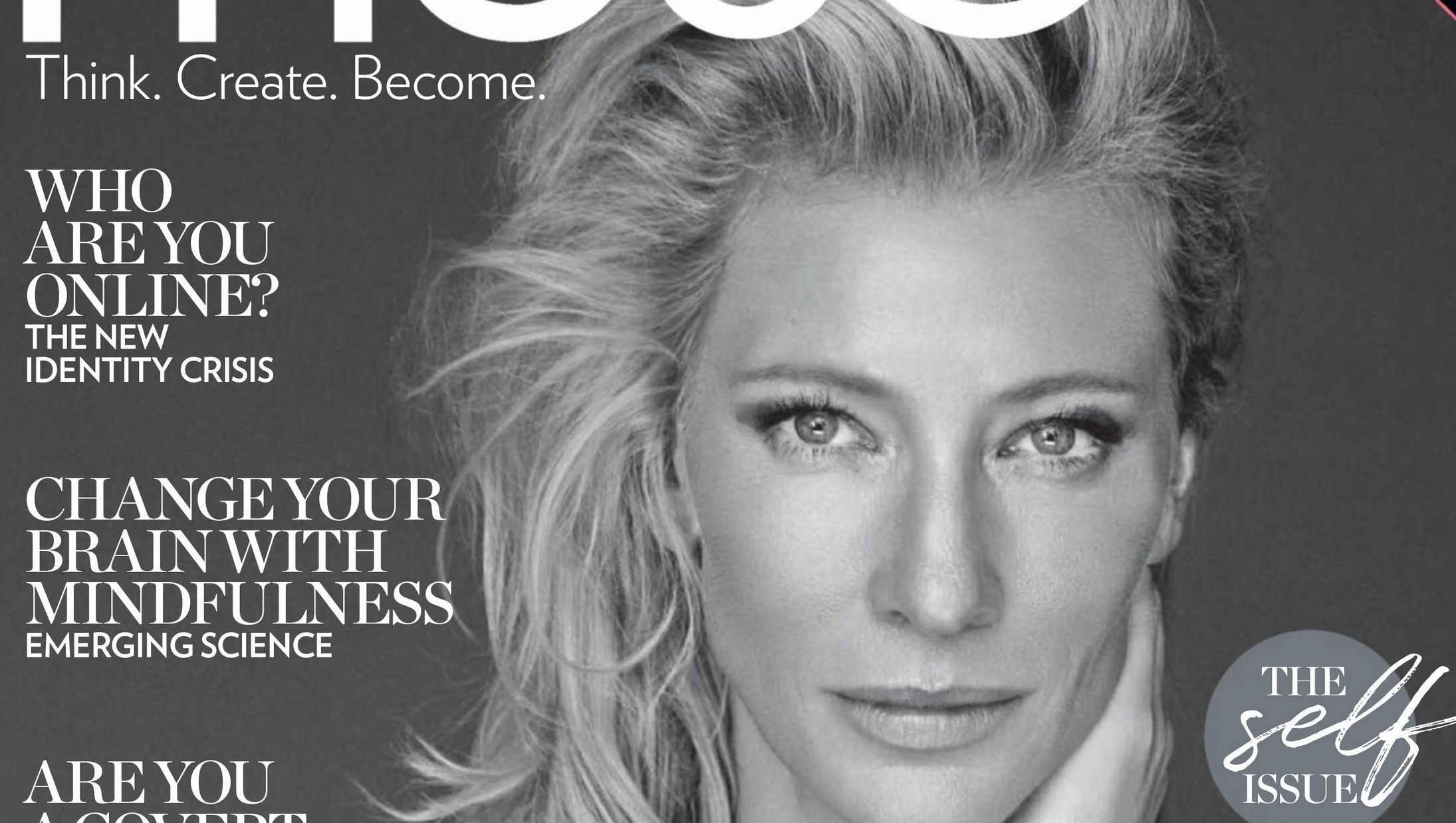 Cate Blanchett covers the launch issue of Australian Muse Magazine