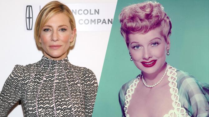 Amazon Buys Lucille Ball Biopic Starring Cate Blanchett