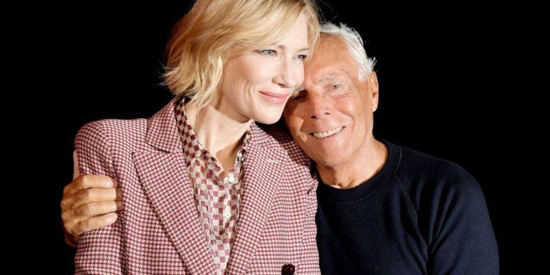 Cate Blanchett – Giorgio Armani Fashion Show Spring Summer 2018 #MFW 2017