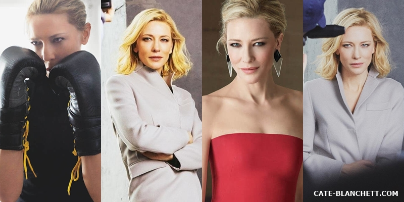 Cate Blanchett for Giorgio Armani Sì 2017