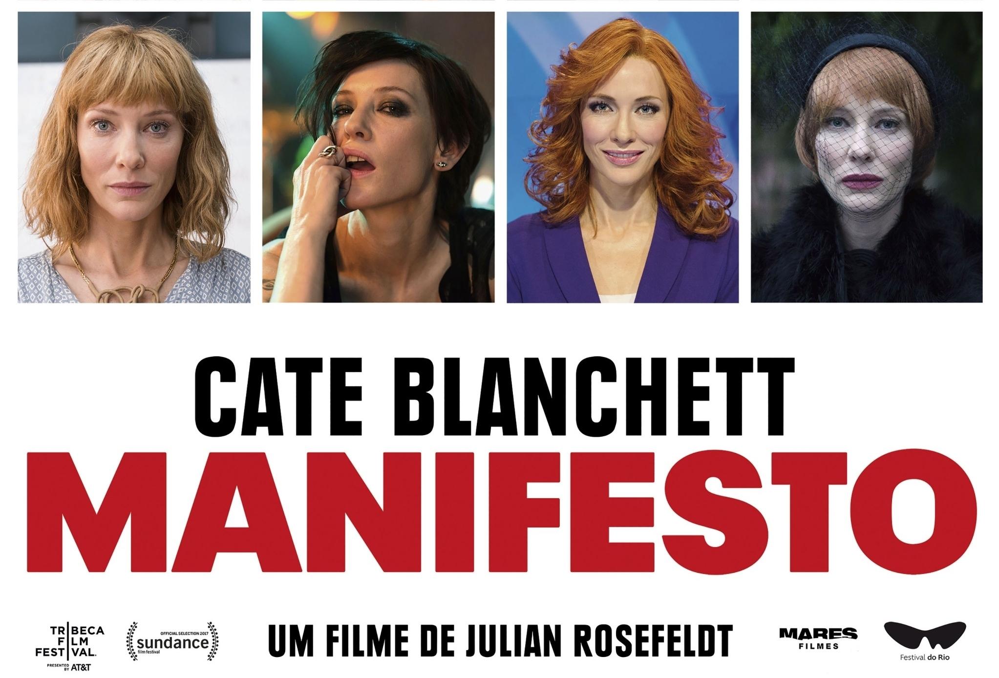 Rio de Janeiro International Film Festival and Parool Film Festival to screen 'Manifesto' by Julian Rosefeldt