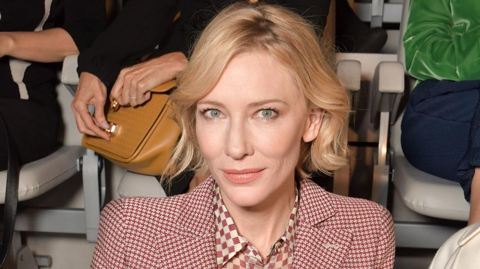 Q&A Before Giorgio Armani's fashion show, Cate Blanchett talks about the growing power of women in film