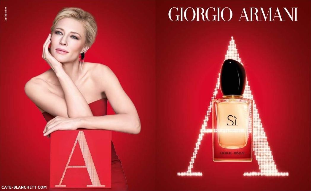 Cate Blanchett for Sì by Giorgio Armani – More photos #SaySì