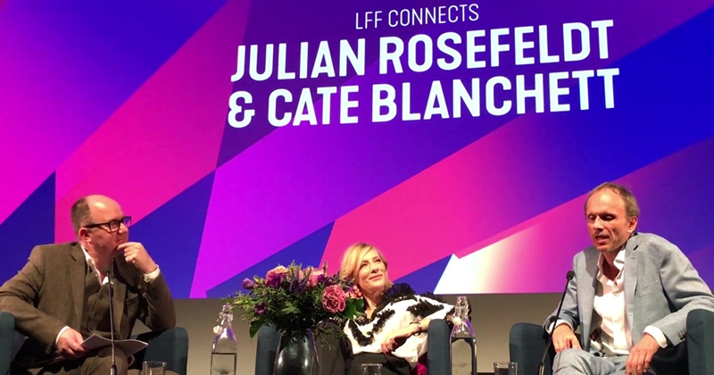 [Videos] LFF Connects: Cate Blanchett & Julian Rosefeldt – 61st BFI London Film Festival