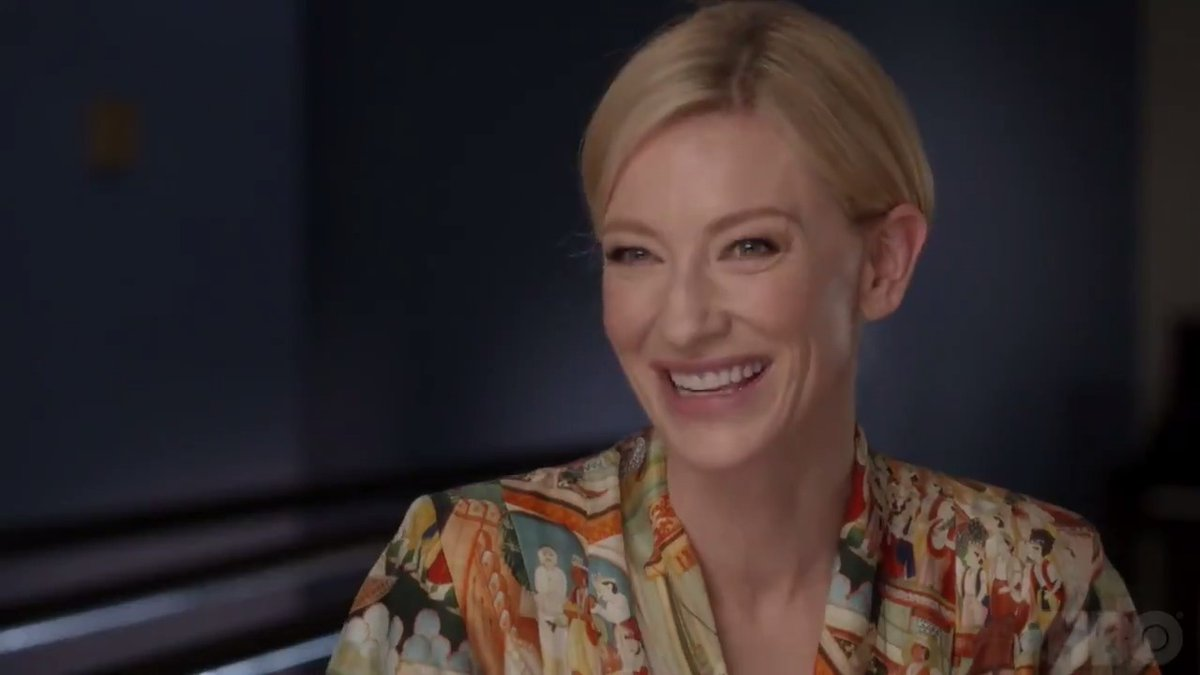Spielberg on HBO: a clip with Cate Blanchett