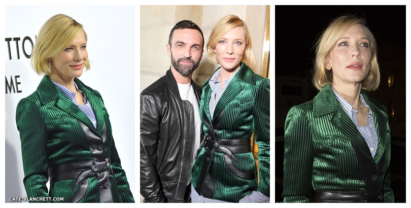 Cate Blanchett attends the opening of the new Louis Vuitton's boutique (More Pictures)