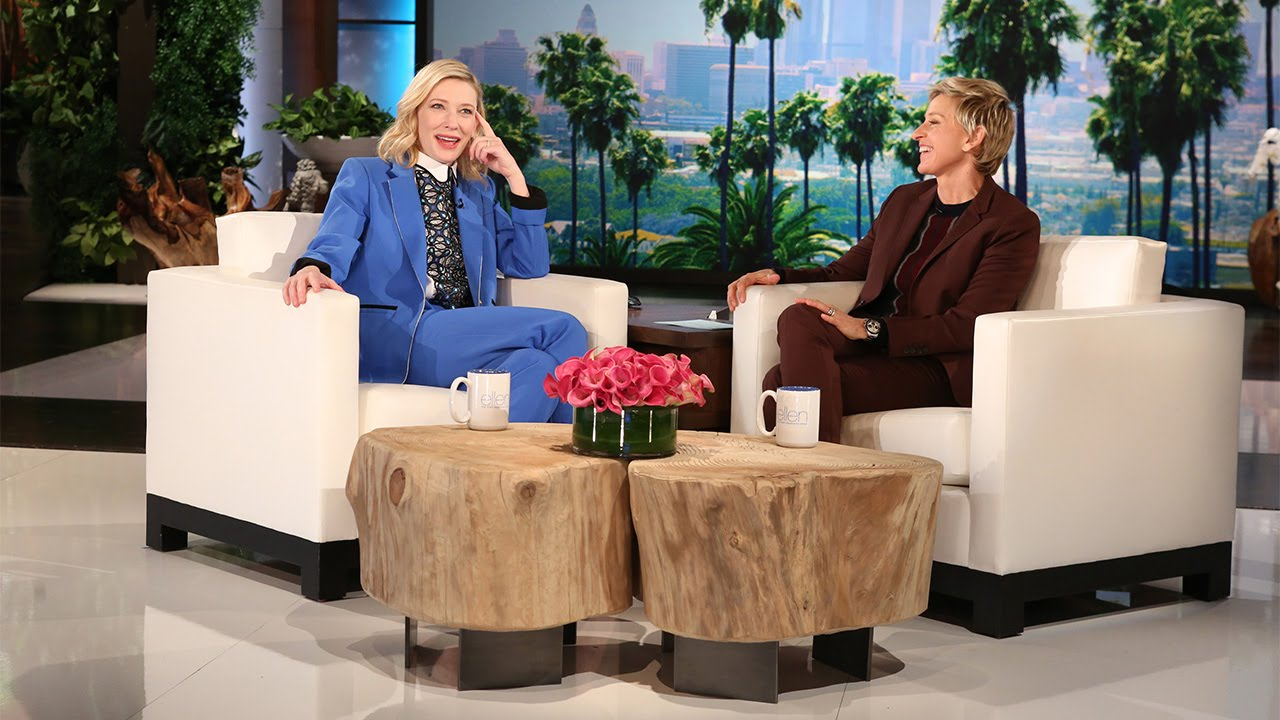 Cate Blanchett to visit the Ellen DeGeneres Show