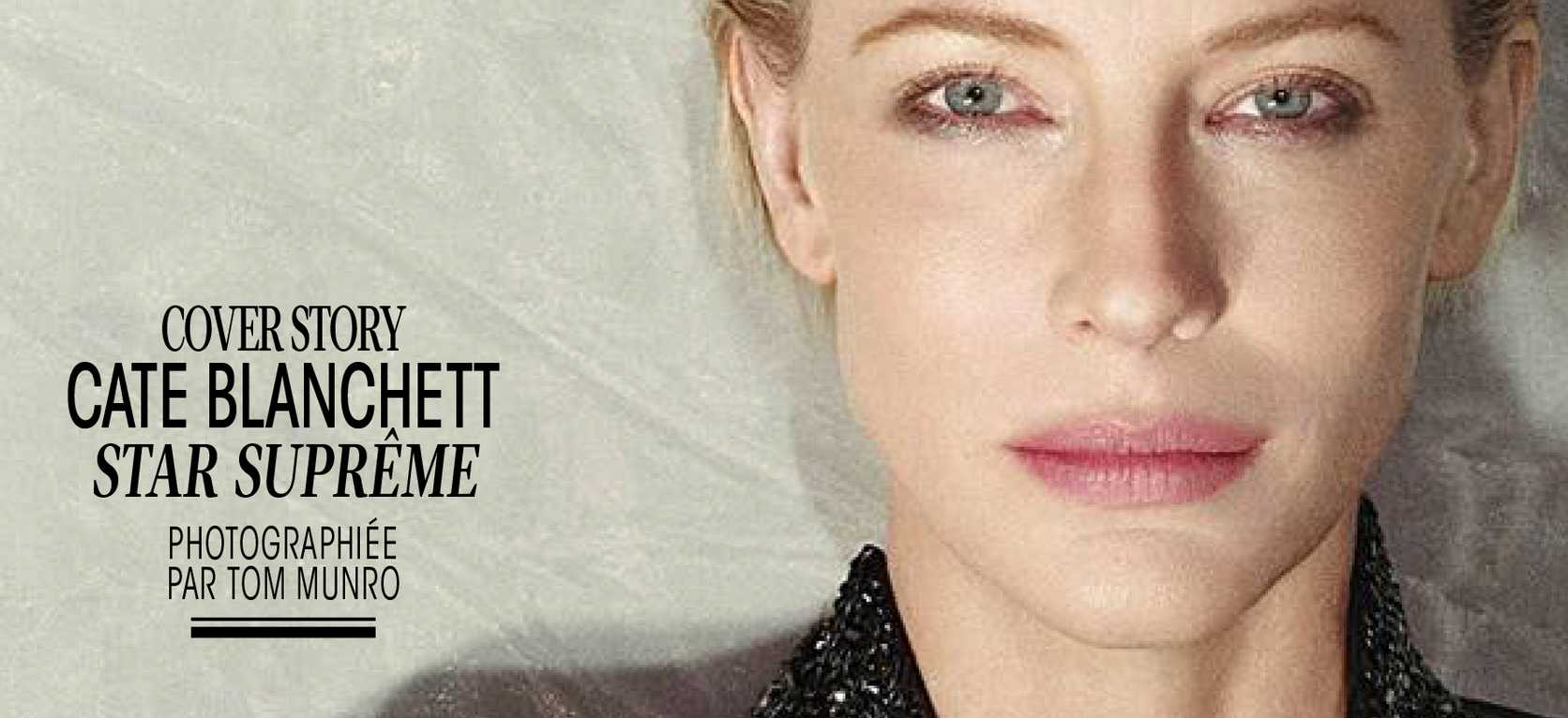 Cate Blanchett on the cover of Madame Figaro