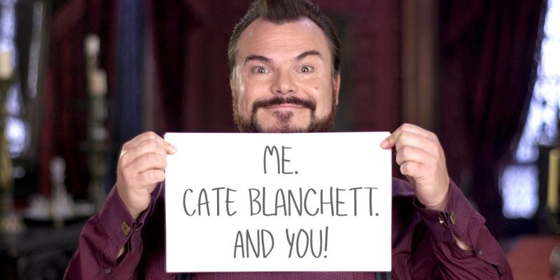 Walk the Red Carpet with Cate Blanchett and Jack Black!