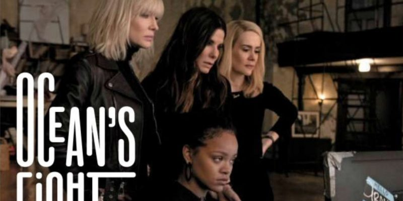 Cate Blanchett, Sandra Bullock, Sarah Paulson and Rihanna in new Ocean's Eight photo
