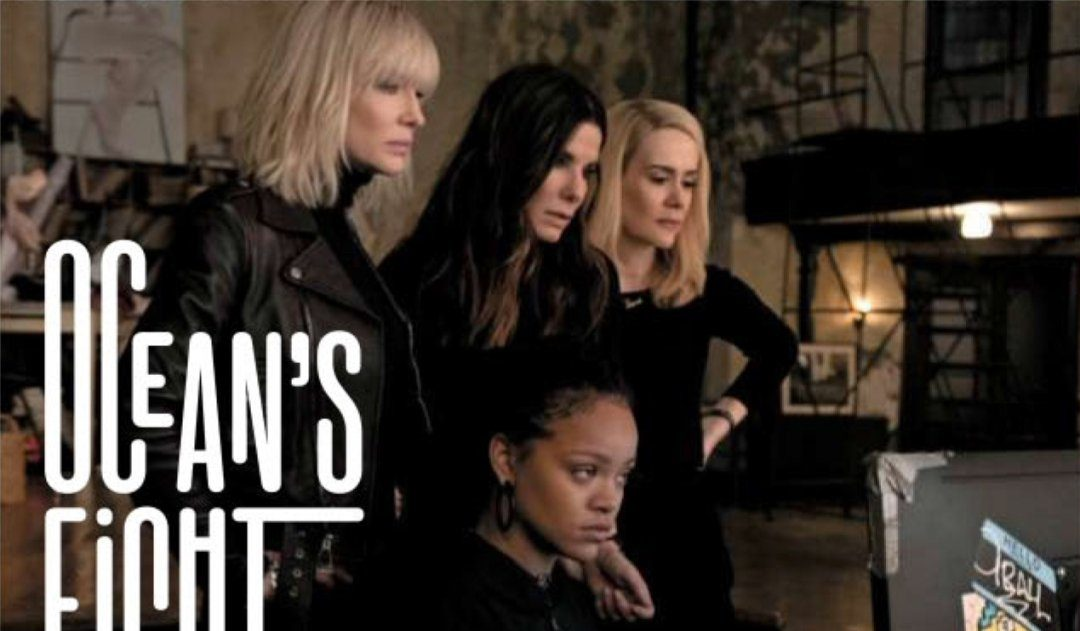 Cate Blanchett, Sandra Bullock, Sarah Paulson and Rihanna in new Ocean's Eight photo