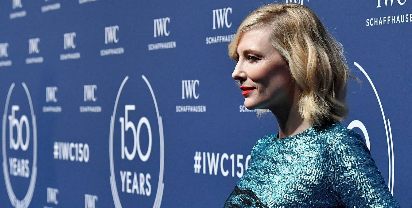 Cate Blanchett at the IWC Schaffhausen 150th Anniversary Gala