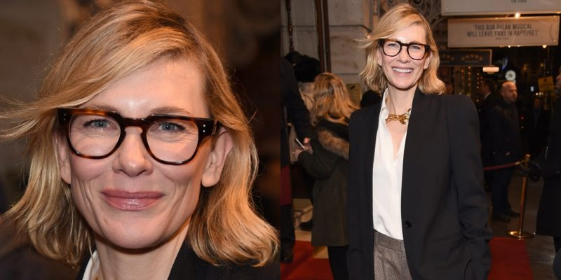 Cate Blanchett at the opening night of Girl from the North Country on the West End