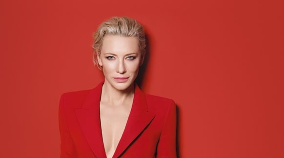 New images and interview of Cate Blanchett for Armani's Sì Passione