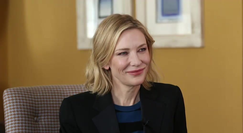 Cate Blanchett on Rohingya refugees – Interviews III