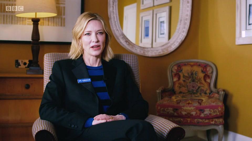 Cate Blanchett on Rohingya refugees – Interviews II