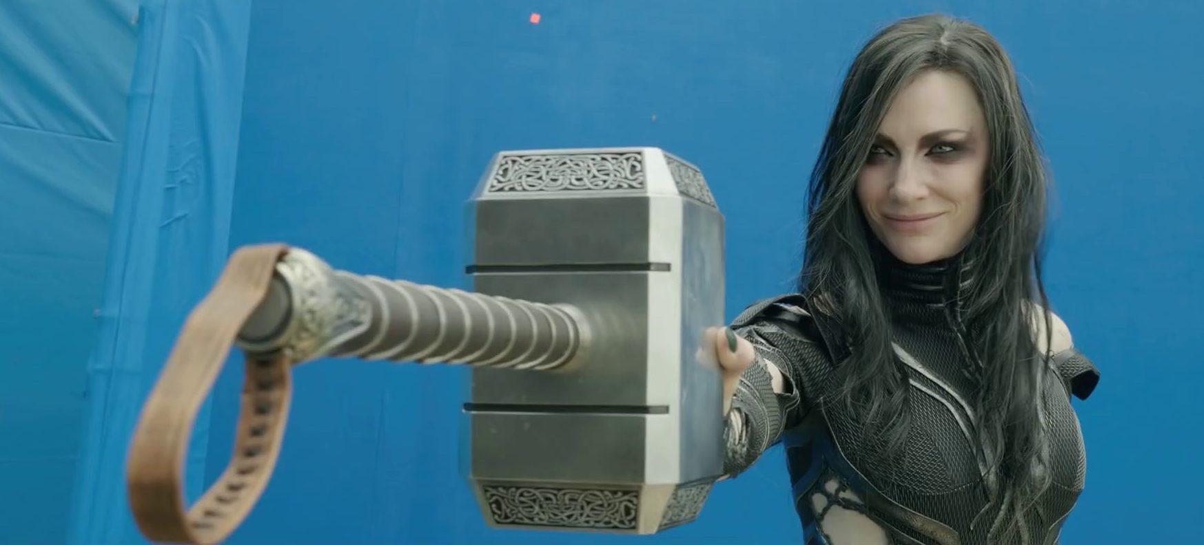 Thor Ragnarok's VFX videos