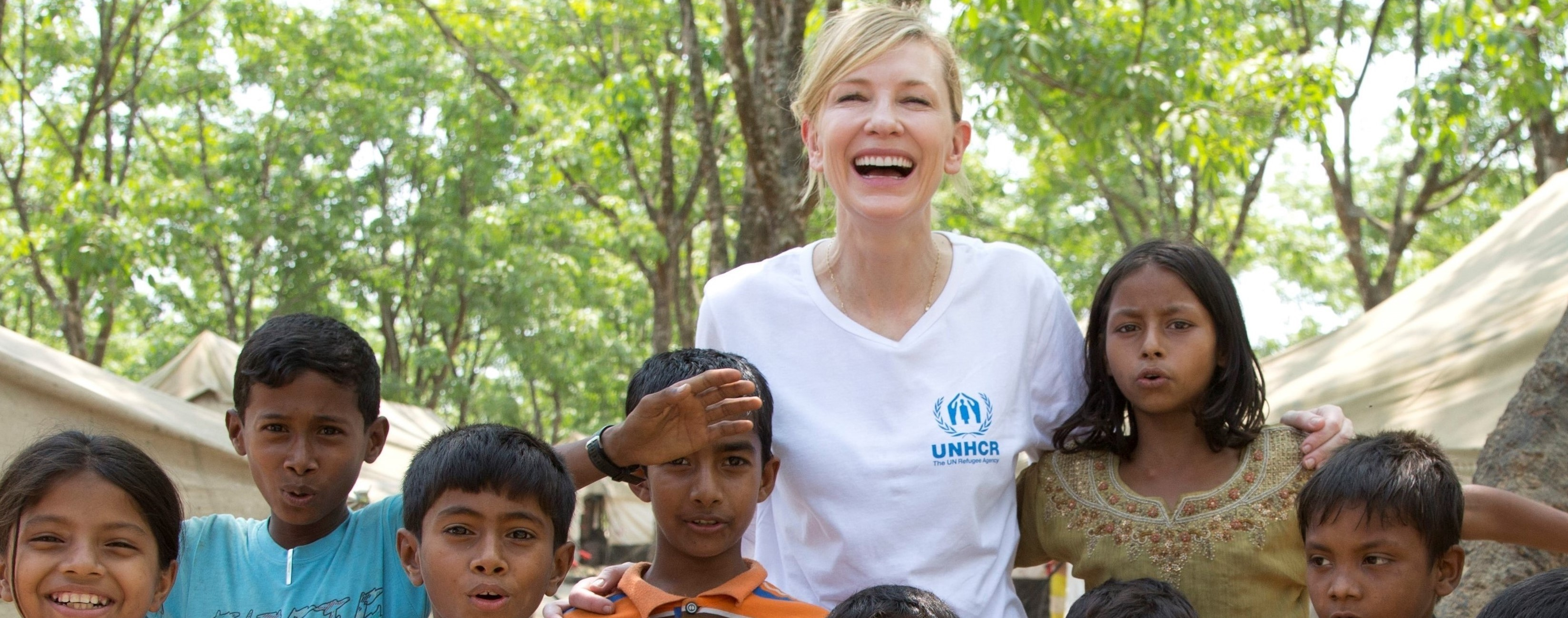 UNHCR Goodwill Ambassador Cate Blanchett calls for solidarity and support with Refugees