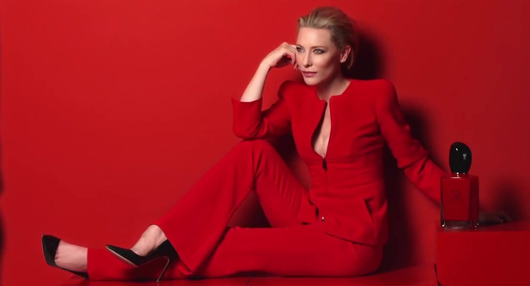 Cate Blanchett Says Si to Passion