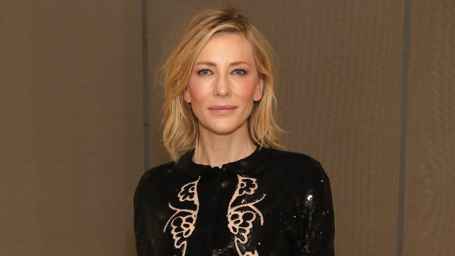 Cate Blanchett at the Giorgio Armani boutique opening in London