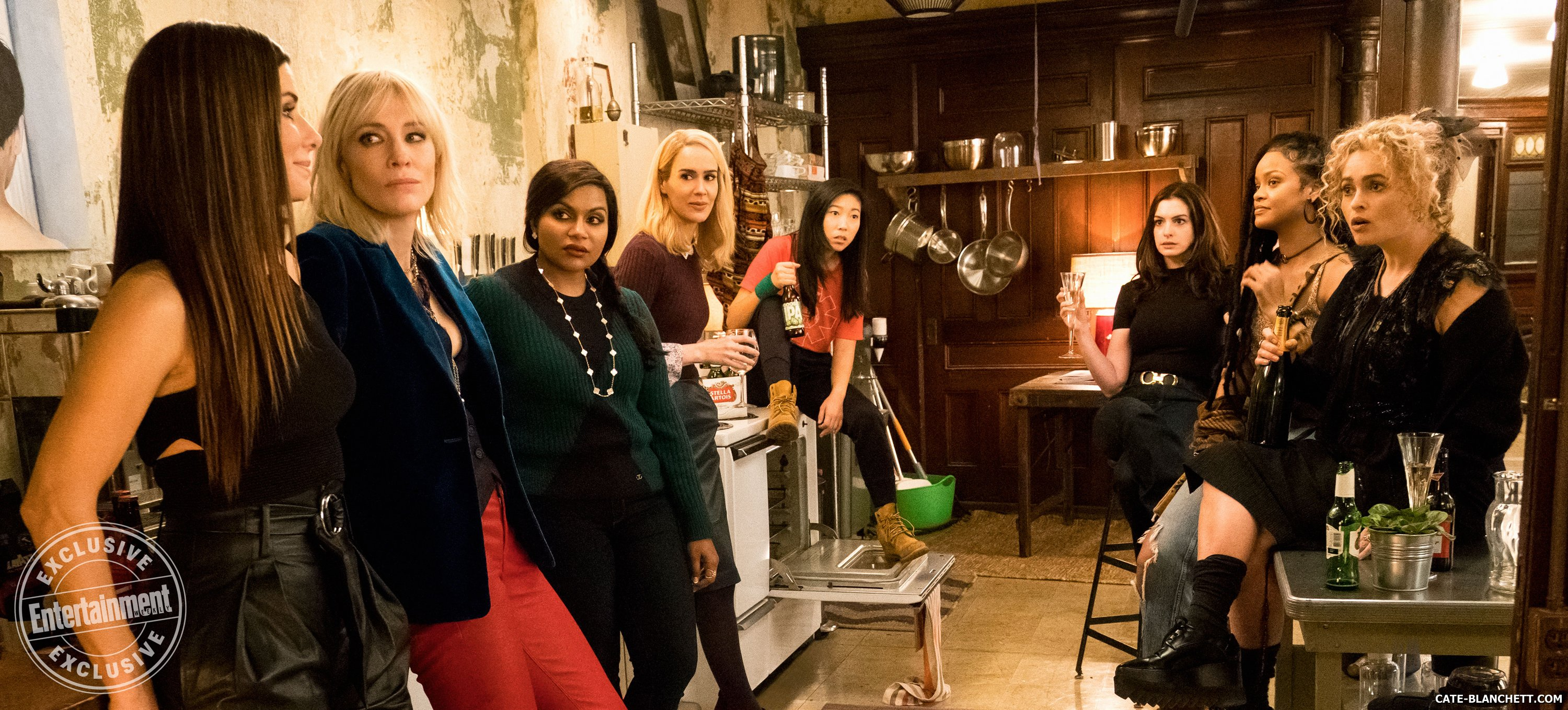 Ocean's 8: See Sandra Bullock, Cate Blanchett, and the gang in a new still for the movie