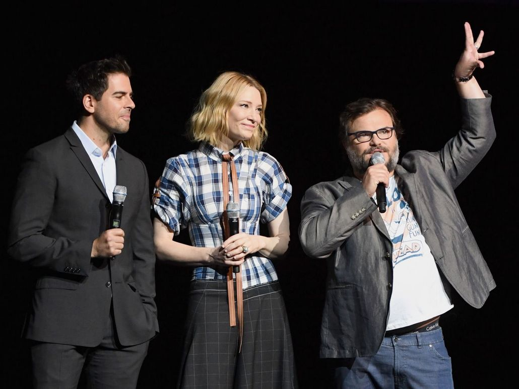 CinemaCon – Cate Blanchett and Jack Black at the Universal panel