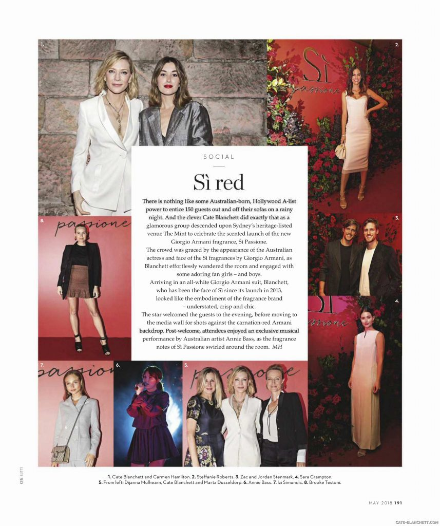 Vogue Australia May 2018
