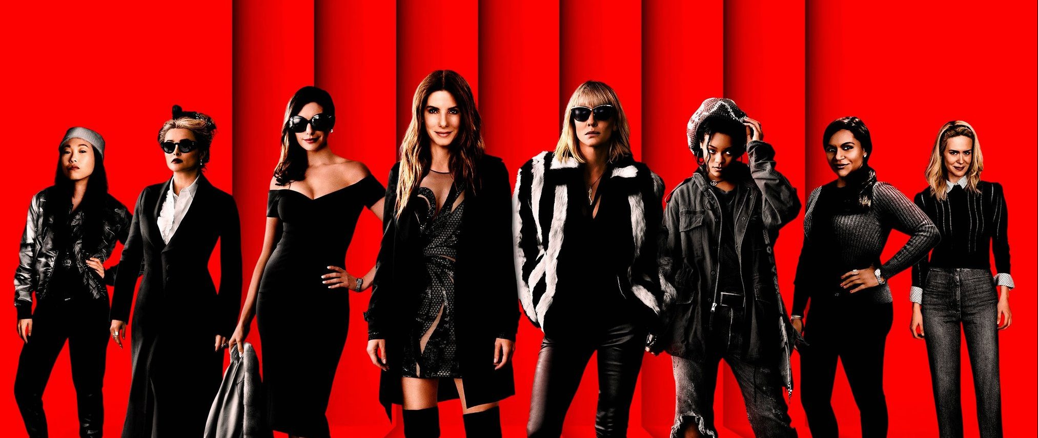 New Poster for Ocean's 8, Starring Sandra Bullock and Cate Blanchett,