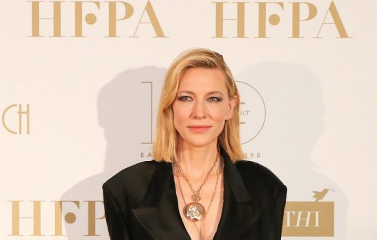 Cate Blanchett at the HFPA Party – First Look