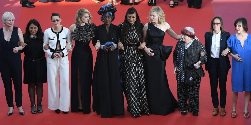 """Cannes Film Festival – First look at the Women's March ahead of the """"Girls of the Sun"""" Premiere"""