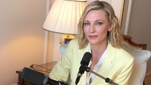 Cate Blanchett on France Inter – Radio Interview