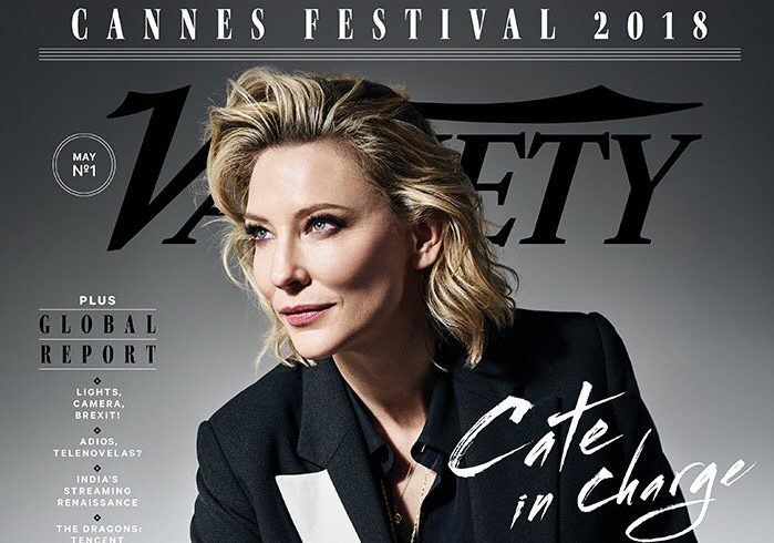 Cate Blanchett on the cover of Variety Cannes issue!