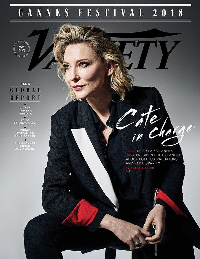 Cate Blanchett Fan Cannes Variety