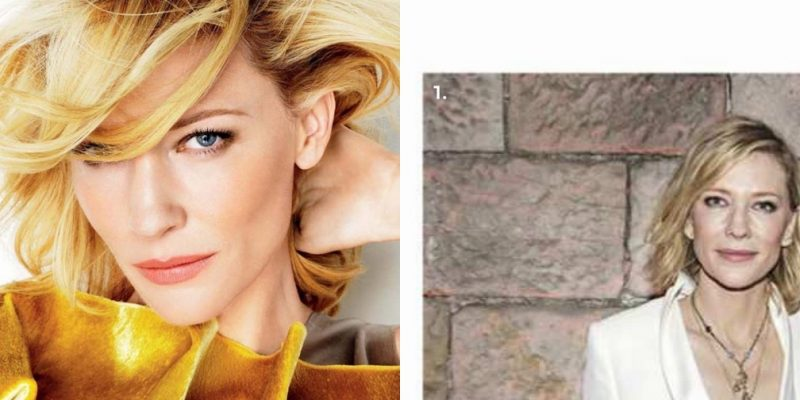 Cate Blanchett in Vogue Australia and InStyle Australia may 2018