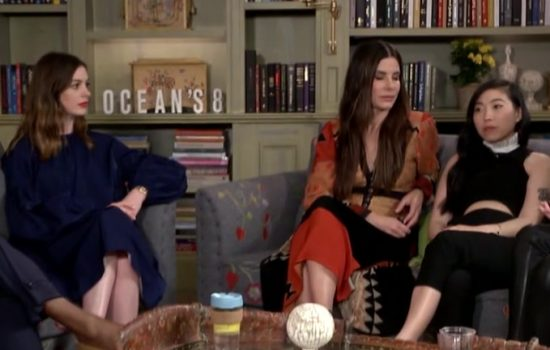 New Ocean's 8 Interviews