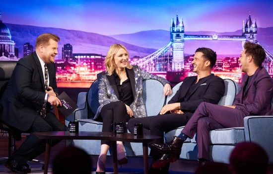The Late Late Show with James Corden – Stills + Video