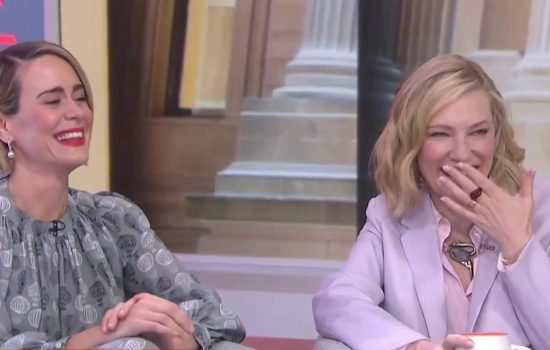 Cate Blanchett on The Today Show + Live with Kelly and Ryan
