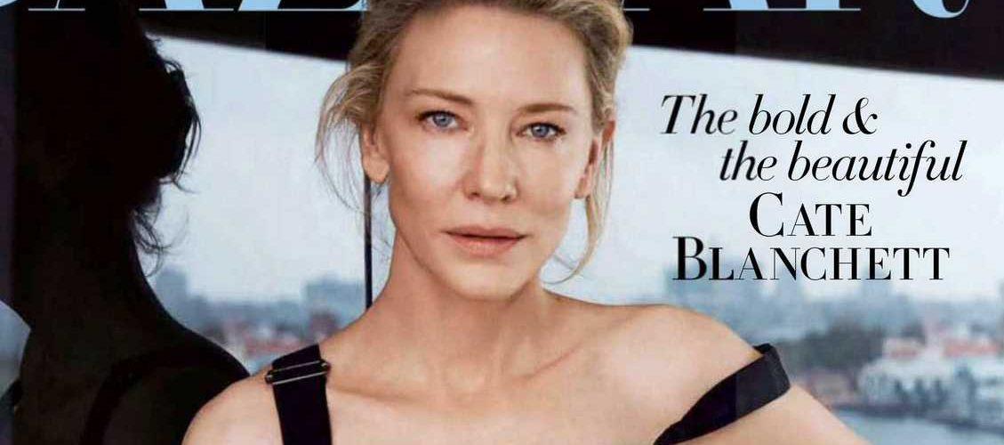 Cate Blanchett for Harper's Bazaar Australia – Magazine Scans