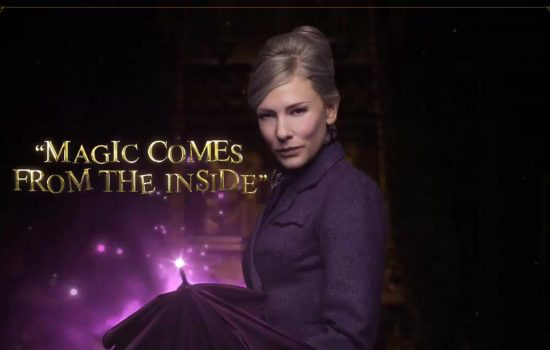 New Still and Promotional Image featuring Cate Blanchett in 'The House With A Clock in Its Walls'