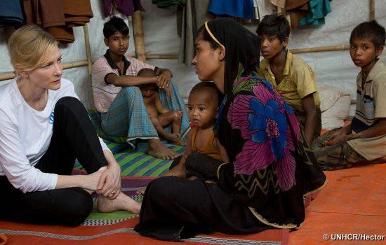 Watch UNHCR Goodwill Ambassador Cate Blanchett's speech at UN Security Council LIVE today