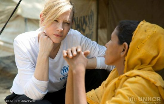 News | UNHCR Goodwill Ambassador, Cate Blanchett will brief the UN Security Council on 28 August