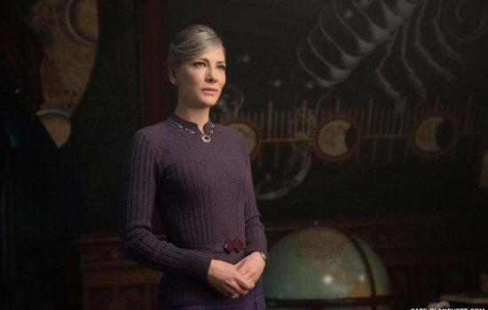 Cate Blanchett in new photos for The House with a Clock in its Walls