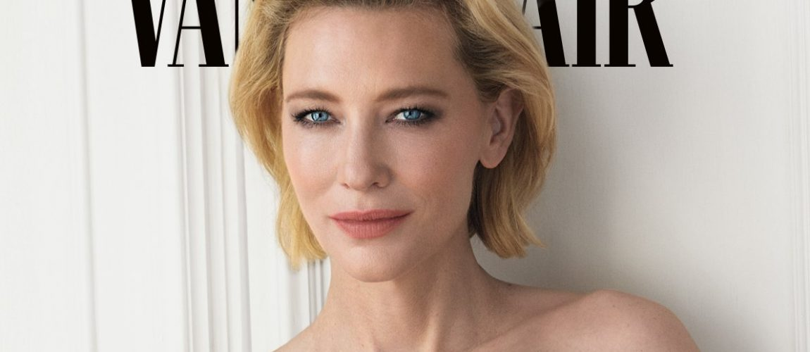 Cate Blanchett on the cover of Vanity Fair Italia